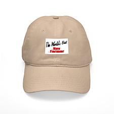"""The World's Best Hay Farmer"" Baseball Cap"