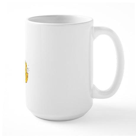 I Accept Cookies Large Mug