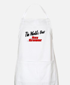 """The World's Best Hay Grower"" BBQ Apron"