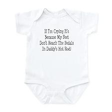 My Daddys Hot Rod Infant Bodysuit