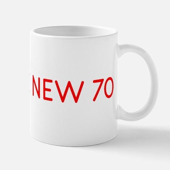 """80 is the New 70"" Mug"