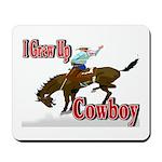 Cowboy Shirts Mousepad