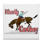 Cowboy Shirts Tile Coaster