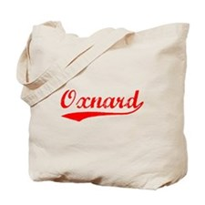 Vintage Oxnard (Red) Tote Bag