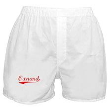 Vintage Oxnard (Red) Boxer Shorts