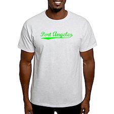 Vintage Port Angeles (Green) T-Shirt