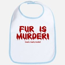 Fur Is Warm, Toasty Murder Bib