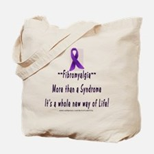 Fibromyalgia-More than a syndrome Tote Bag