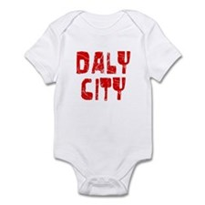 Daly City Faded (Red) Infant Bodysuit