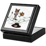 Cat Fish Bowl Keepsake Box