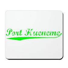 Vintage Port Hueneme (Green) Mousepad