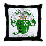 Beltran Family Crest Throw Pillow