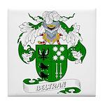 Beltran Family Crest Tile Coaster