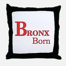 Bronx Born Throw Pillow