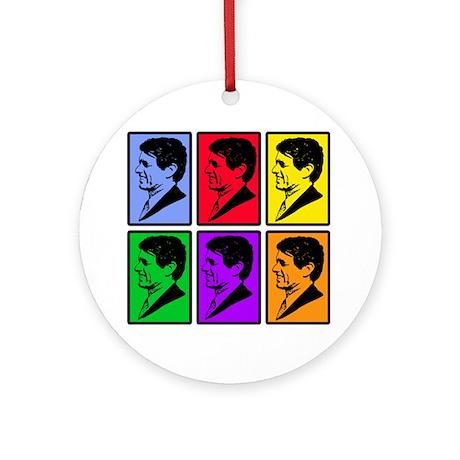 Warhol - esque Robert Kennedy Ornament (Round)