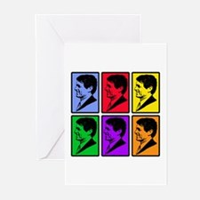 Warhol - esque Robert Kennedy Greeting Cards (Pk o