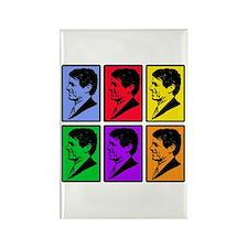 Warhol - esque Robert Kennedy Rectangle Magnet