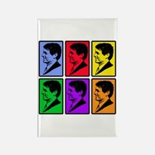 Warhol - esque Robert Kennedy Rectangle Magnet