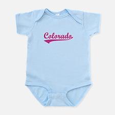 Colorado - Pink Retro Infant Bodysuit