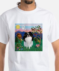 Pagoda & Japanese Chin Shirt