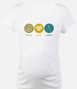 Peace Love Survey Shirt