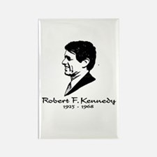 Bobby Kennedy Profile Rectangle Magnet