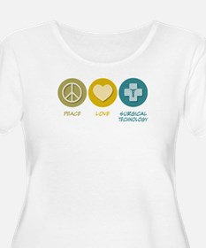 Peace Love Surgical Technology T-Shirt