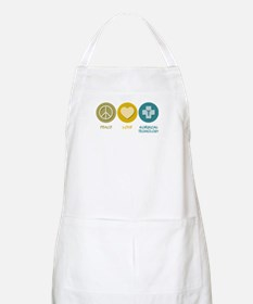 Peace Love Surgical Technology BBQ Apron