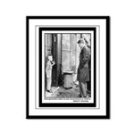 Robert Kennedy Quote Framed Panel Print