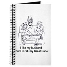 C husband Great Dane Journal