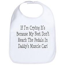 My Daddys Muscle Car Bib