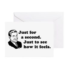 Just for a Second - Retro Greeting Cards (Pk of 10
