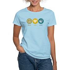 Peace Love Study T-Shirt