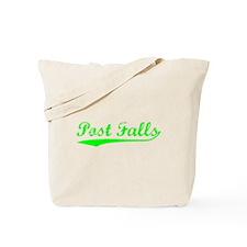 Vintage Post Falls (Green) Tote Bag