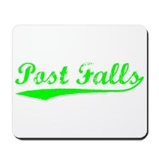 Vintage Post Falls (Green) Mousepad
