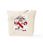 Berrios Family Crest Tote Bag