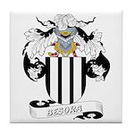 Besora Family Crest Tile Coaster