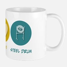 Peace Love Steel Drum Mug