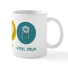Peace Love Steel Drum Mug