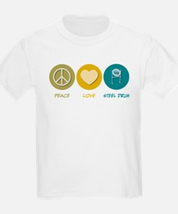 Peace Love Steel Drum T-Shirt