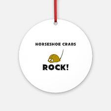 Horseshoe Crabs Rock! Ornament (Round)