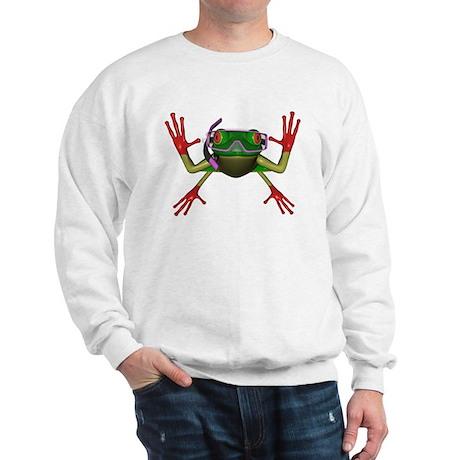 Snorkel Frog Sweatshirt