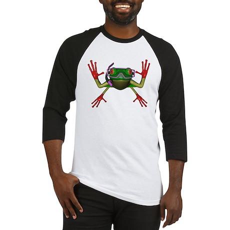 Snorkel Frog Baseball Jersey