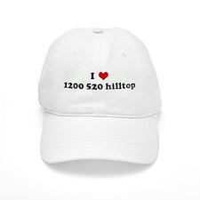 I Love 1200 520 hilltop Baseball Cap