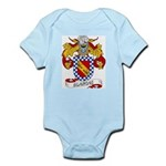 Blancas Family Crest Infant Creeper
