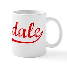 Vintage Palmdale (Red) Mug