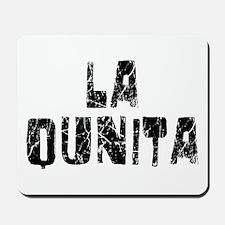 La Quinta Faded (Black) Mousepad