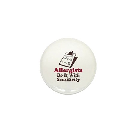 Allergist Immunologist Mini Button (10 pack)