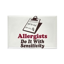 Allergist Immunologist Rectangle Magnet