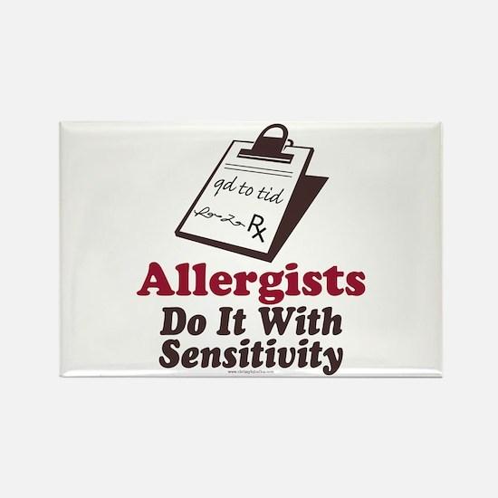 Allergist Immunologist Rectangle Magnet